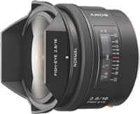 16mm F2.8 Fisheye