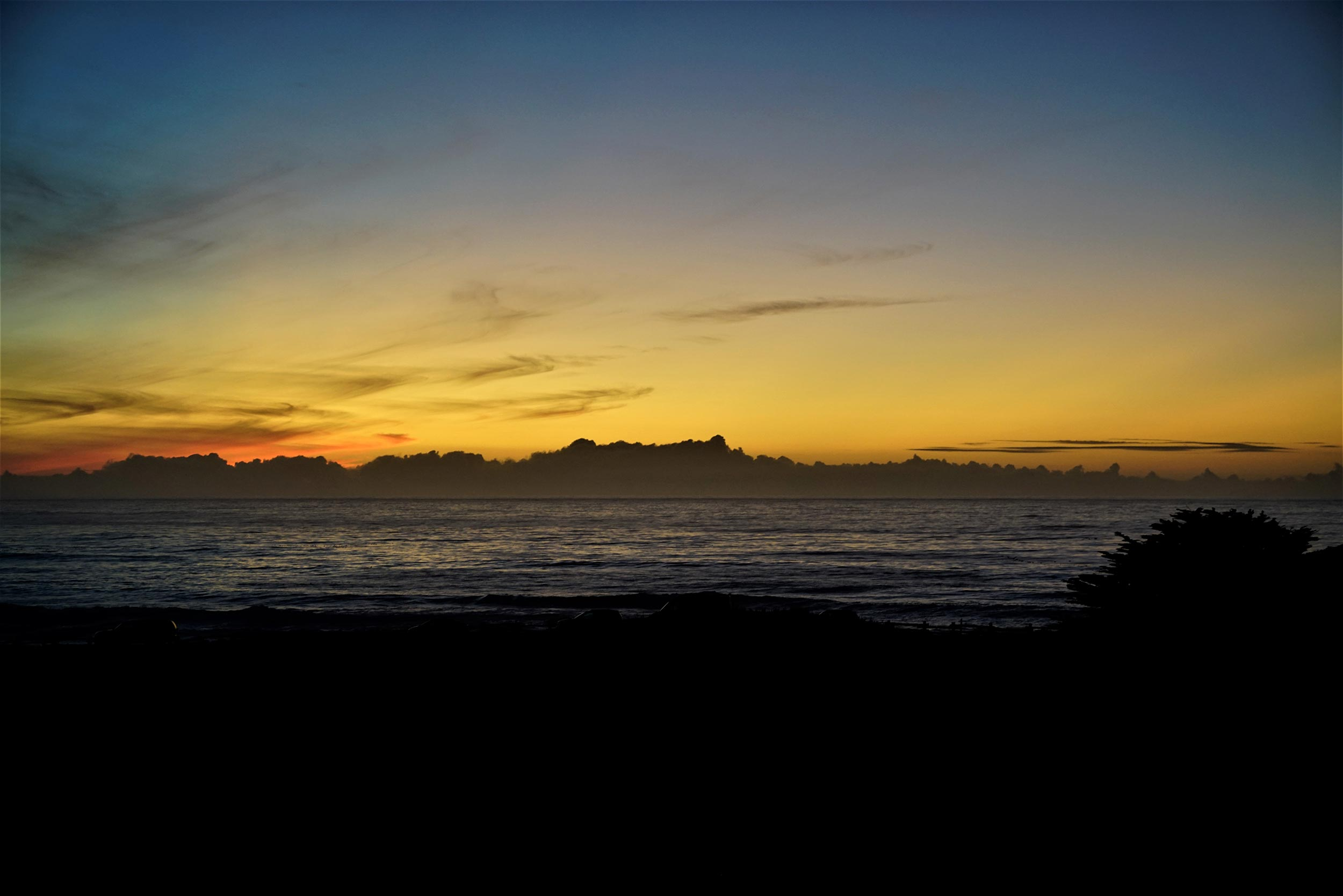 Sunset from the Asilomar Beach