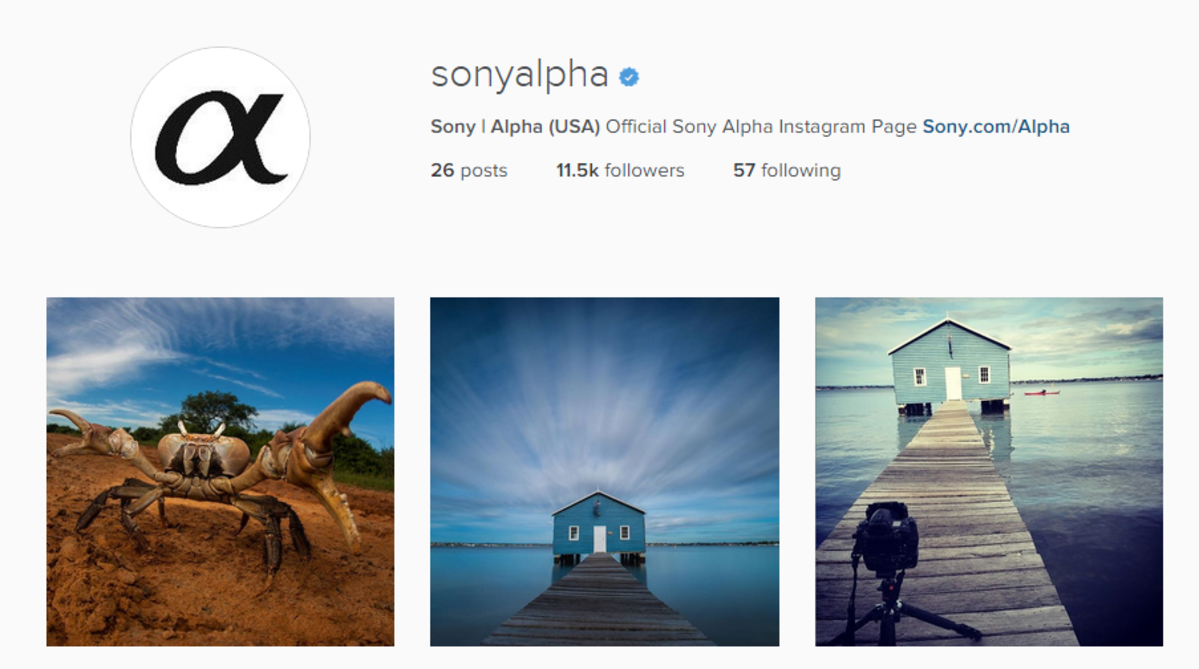 Join @SonyAlpha on Instagram!